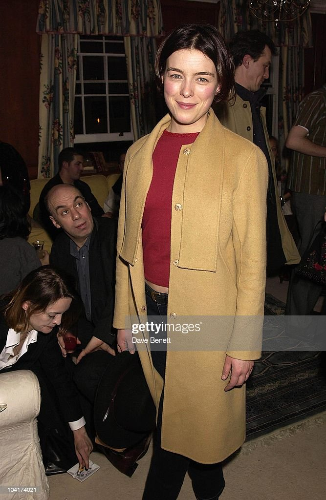 Olivia Williams, The Premiere Of New American Movie 'The Royal Tenenbaums' At The Ucg Haymarket ,and The Party At 23 Craven St, London