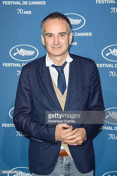 Olivier Assayas attends the Cannes Film Festival 70th Anniversary Party at Palais Des Beaux Arts on September 20 2016 in Paris France