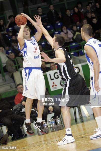 Olivier BARDET Nantes / Limoges 15eme journee de ProB Palais des Sports de Beaulieu Nantes