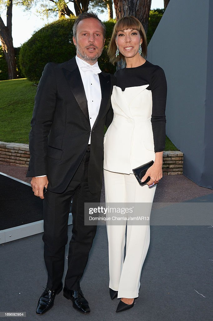 Olivier Bialobos and Mathilde Meyer attends amfAR's 20th Annual Cinema Against AIDS during The 66th Annual Cannes Film Festival at Hotel du Cap-Eden-Roc on May 23, 2013 in Cap d'Antibes, France.