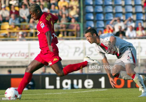 ROMARIC / Olivier ECHOUAFNI Le Mans / Nice 1e journee Ligue 1