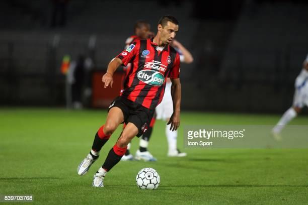 Olivier ECHOUAFNI Auxerre / Nice 8eme journee de Ligue 1