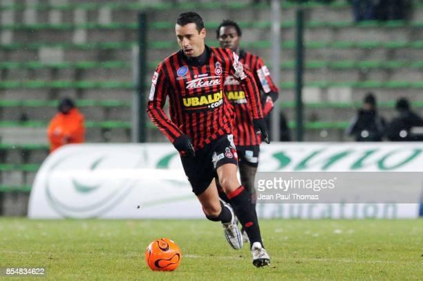 Olivier ECHOUAFNI Saint Etienne / Nice 15eme journee de Ligue 1