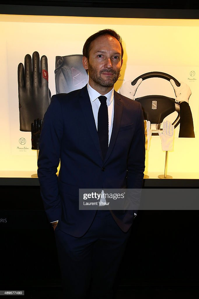 Olivier Fabre attends the 'Maison Fabre x DS World Paris' At The DS Flagshipstore In Paris on September 22, 2015 in Paris, France.