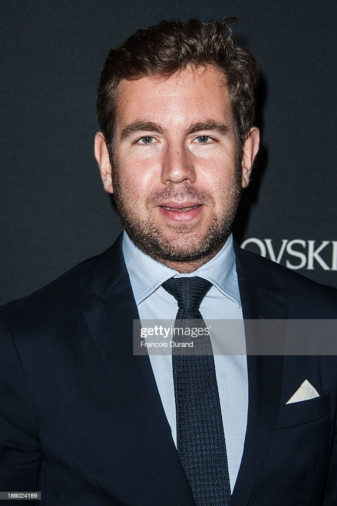 Olivier Gabet attends the Swarovski Dinner In Honor of the Bouroullec Brothers at Chateau de Versailles on November 14, 2013 in Versailles, France.