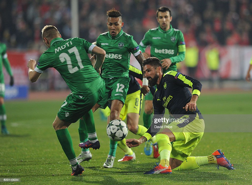 PFC Ludogorets Razgrad v Arsenal FC - UEFA Champions League : News Photo