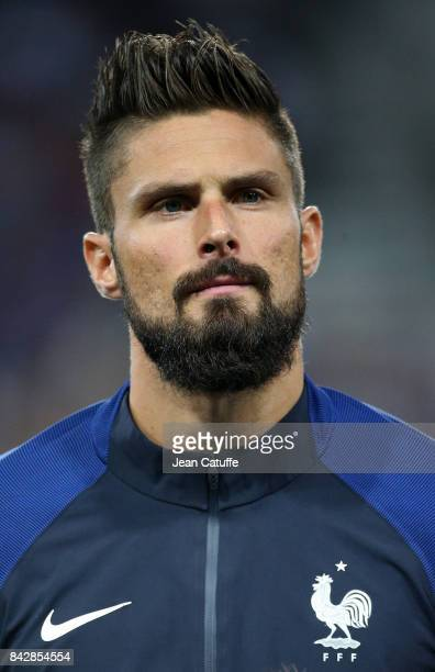 Olivier Giroud of France during the FIFA 2018 World Cup Qualifier between France and Luxembourg at the Stadium on September 3 2017 in Toulouse France