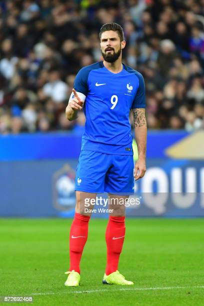 Olivier Giroud of France during the international friendly match between France and Wales at Stade de France on November 10 2017 in Paris France