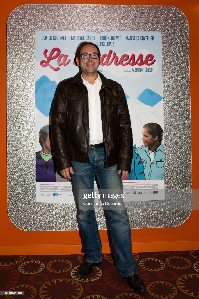 <a gi-track='captionPersonalityLinkClicked' href=/galleries/search?phrase=Olivier+Gourmet&family=editorial&specificpeople=3001172 ng-click='$event.stopPropagation()'>Olivier Gourmet</a> posing at 'La Tendresse' Premiere on September 23, 2013 in Paris, France.