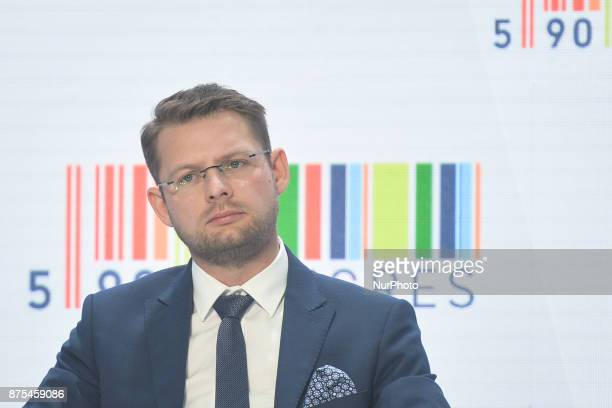 Olivier Jarosz Senior Manager amp CMP Director European Club Association seen during a panel discussion about Polish Football during Congress 590 in...