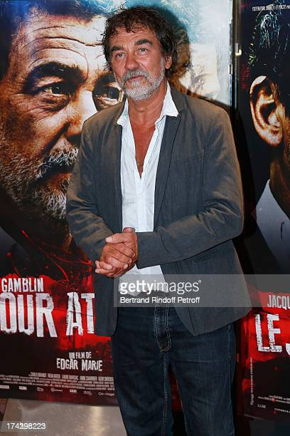 Olivier Marchal attends the Paris Premiere of 'Le Jour Attendra' on July 23 2013 in Paris France