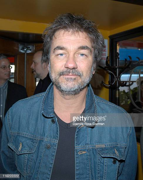 Olivier Marchal during Rendezvous with French Cinema 2005 Press Luncheon in New York City at La Cote Basque in New York City New York United States