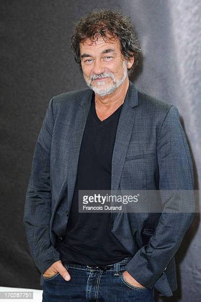 Olivier Marchal poses at the 'A Votre Service' photocall during the 53rd Monte Carlo TV Festival on June 10 2013 in MonteCarlo Monaco
