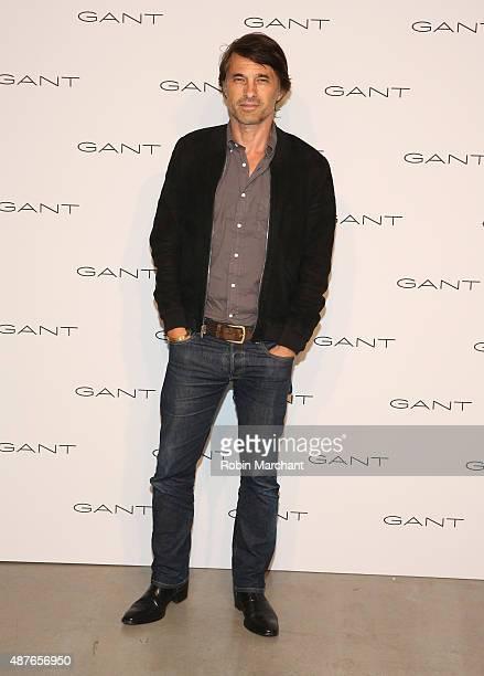 Olivier Martinez attends House of Gant Presentation during Spring 2016 New York Fashion Week on September 10 2015 in New York City
