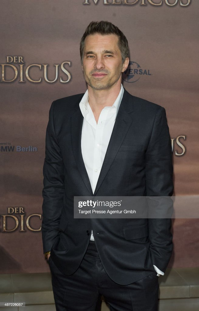 <a gi-track='captionPersonalityLinkClicked' href=/galleries/search?phrase=Olivier+Martinez&family=editorial&specificpeople=213013 ng-click='$event.stopPropagation()'>Olivier Martinez</a> attends the German premiere of the film 'The Physician' (german titel: 'Der Medicus') at Zoo Palast on December 16, 2013 in Berlin, Germany.