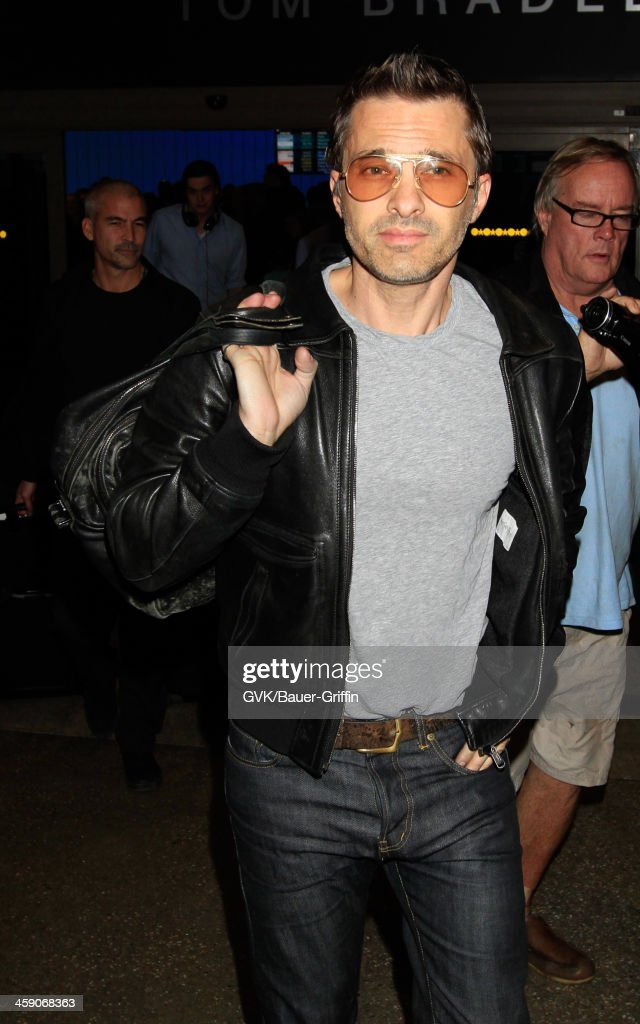 Olivier Martinez is seen at LAX airport on December 22, 2013 in Los Angeles, California.