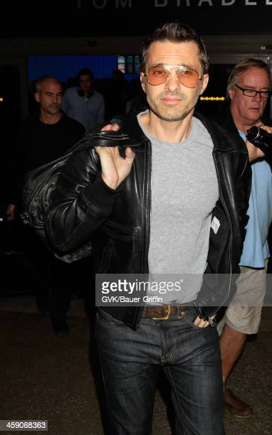 Olivier Martinez is seen at LAX airport on December 22 2013 in Los Angeles California