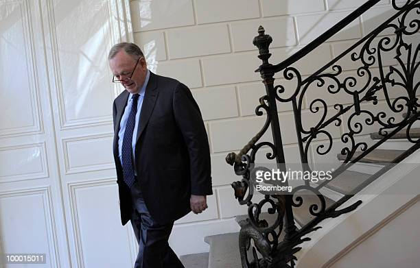Olivier Metzner lawyer for former Societe Generale trader Jerome Kerviel arrives for an interview in his office in Paris France on Thursday May 20...