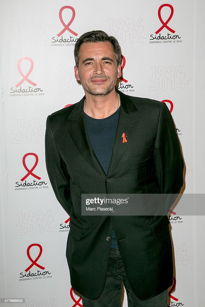 Olivier Minne attends the 'Sidaction 20th Anniversary' at Musee du Quai Branly on March 10, 2014 in Paris, France.