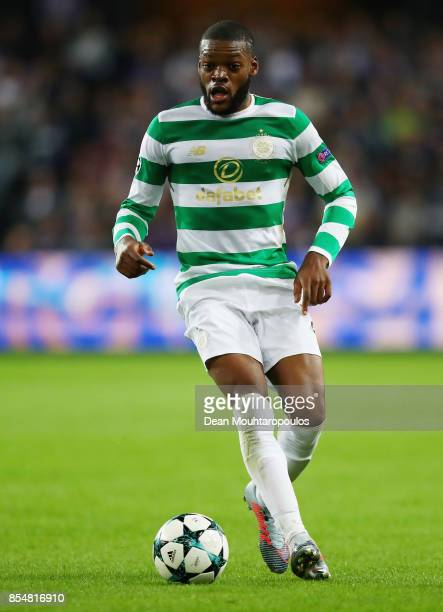 Olivier Ntcham of Celtic in action during the UEFA Champions League group B match between RSC Anderlecht and Celtic FC at Constant Vanden Stock...