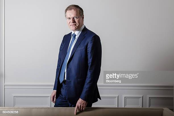 Olivier Piou chief executive officer of Gemalto NV poses for a photograph ahead of an interview in Paris France on Monday Jan 11 2016 Gemalto designs...