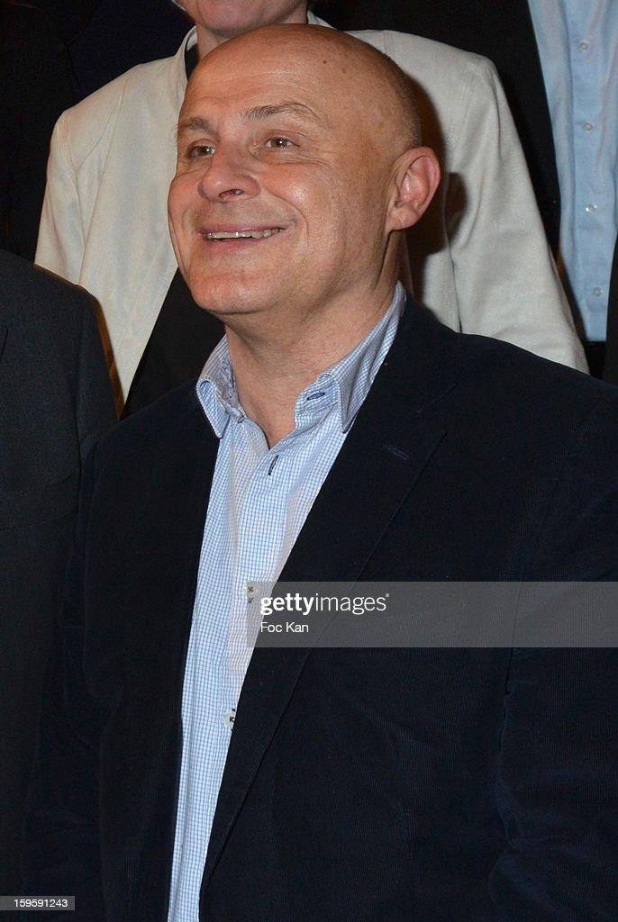 Olivier Poivre d'Arvor attends the 'Procope Des Lumieres 2013 ' Literary Awards Ceremony at Le Procope on January 16, 2013 in Paris, France.