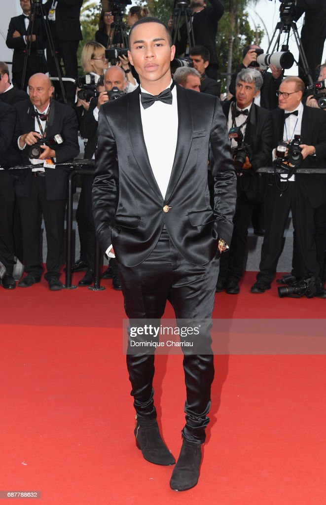 Olivier Rousteing attends the 'The Beguiled' screening during the 70th annual Cannes Film Festival at Palais des Festivals on May 24, 2017 in Cannes, France.