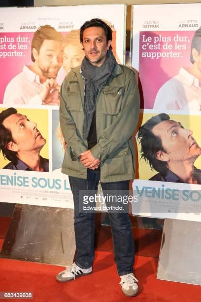 Olivier Sitruk during the 'Venise Sous La Neige' Paris Premiere at UGC Cine Cite des Halles on May 15 2017 in Paris France