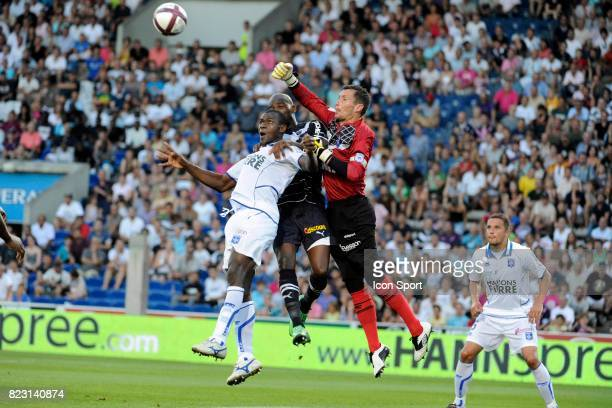 Olivier SORIN / Adama COULIBALY/ Anthony MODESTE Bordeaux / Auxerre 3eme journee de Ligue 1
