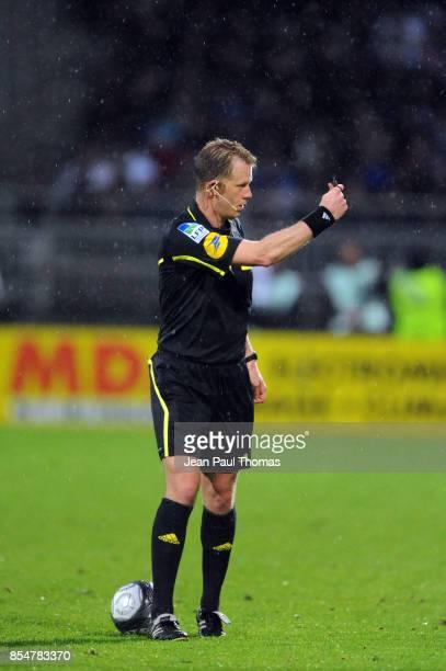 Olivier THUAL Lyon / Auxerre 36eme journee de Ligue 1 Stade de Gerland Lyon