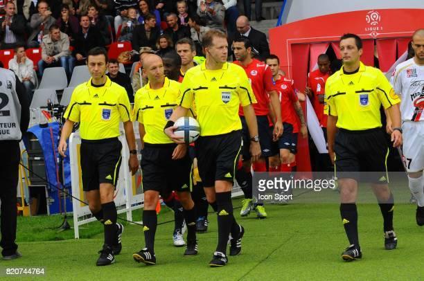 Olivier Thual Lille / Nice 4eme journee de Ligue 1 Stadium Lille Metropole