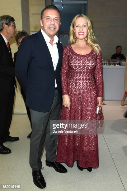 Olivier Widmaier Picasso attends a cocktail in honour of Diana Widmaier Picasso and Alexander SC Rower awarded with the Chevalier and Officier de...