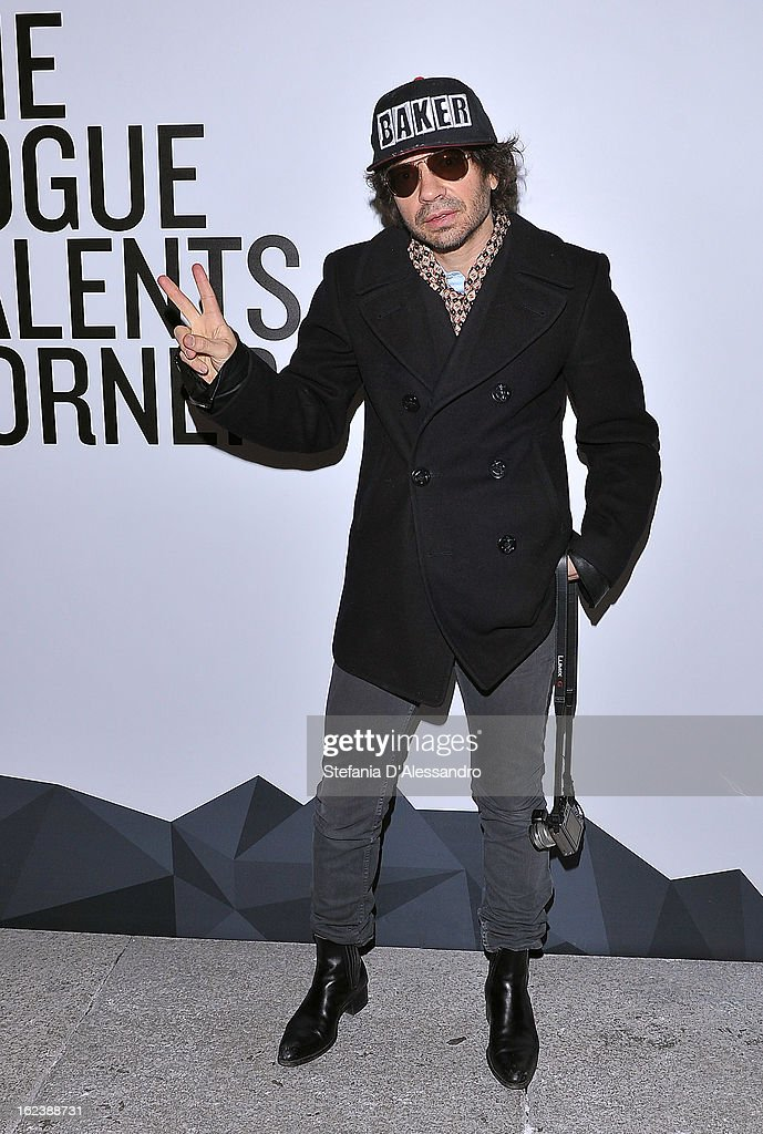 Olivier Zahm attends The Vogue Talent's Corner held at Palazzo Morando during Milan Fashion Week Womenswear Fall/Winter 2013/14 on February 22, 2013 in Milan, Italy.