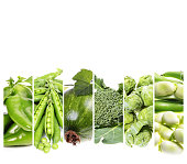 Сollage fresh  vegetables  . Healthy food background