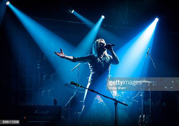 Olli Herman of Reckless Love performs at Camden Rocks Festival on JUNE 04 2016 in London England