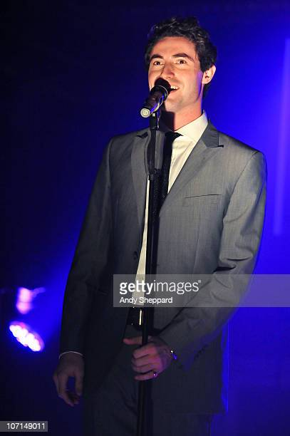Ollie Baines of Blake performs at St James' Church on November 25 2010 in London England