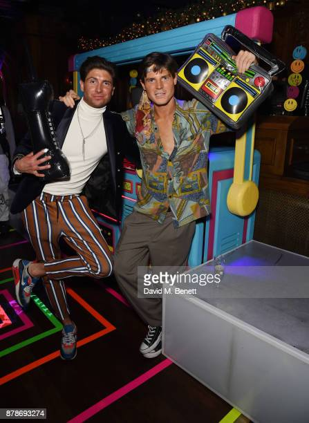 Ollie Chambers and Antoin Commane's attends Ollie Chambers Antoin Commane's annual themed party at Tramp on November 24 2017 in London England