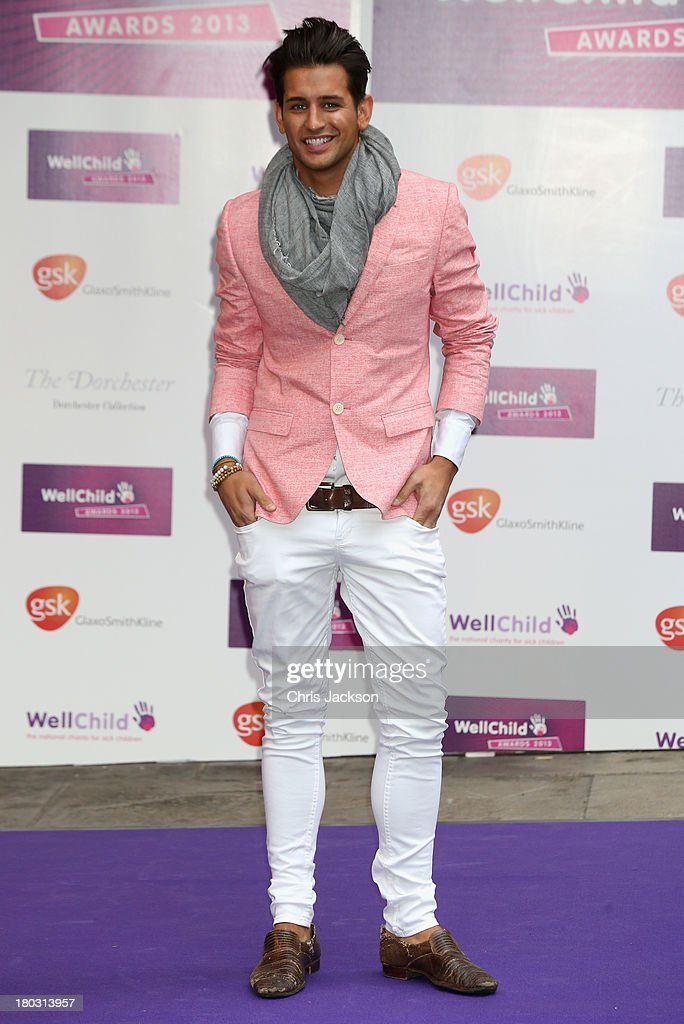Ollie Locke arrives at the WellChild Awards at The Dorchester on September 11, 2013 in London, England.