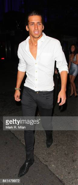 Ollie Locke attends the Midsummer Night's Dream party at The Playboy Club in London