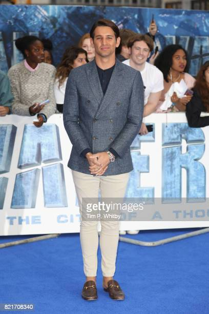Ollie Locke attends the 'Valerian And The City Of A Thousand Planets' European Premiere at Cineworld Leicester Square on July 24 2017 in London...