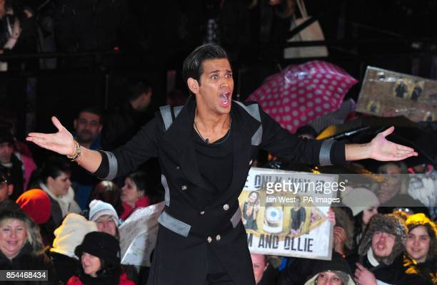 Ollie Locke is evicted from the Celebrity Big Brother House at Elstree Studios Borehamwood