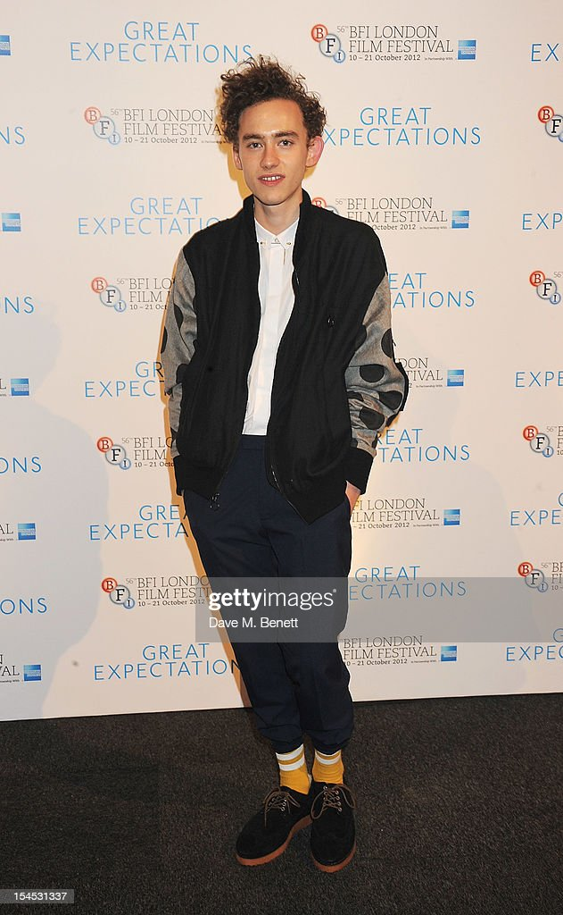 Olly Alexander attends an after party following the Gala Premiere of 'Great Expectations' which closes the 56th BFI London Film Festival at Battersea Power station on October 21, 2012 in London, England.