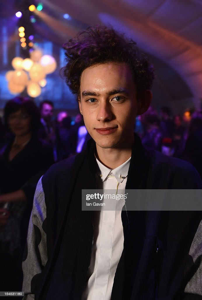 Olly Alexander attends the afterparty for 'Great Expectations' which closes the 56th BFI London Film Festival at Battersea Power Station on October 21, 2012 in London, England.