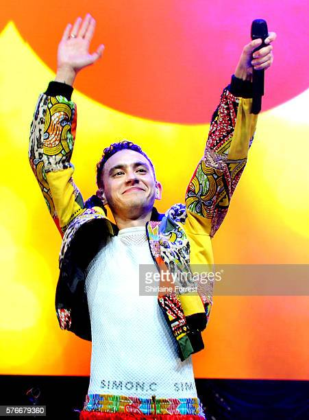 Olly Alexander of Years and Years performs at Key 103 Live at Manchester Arena on July 16 2016 in Manchester England