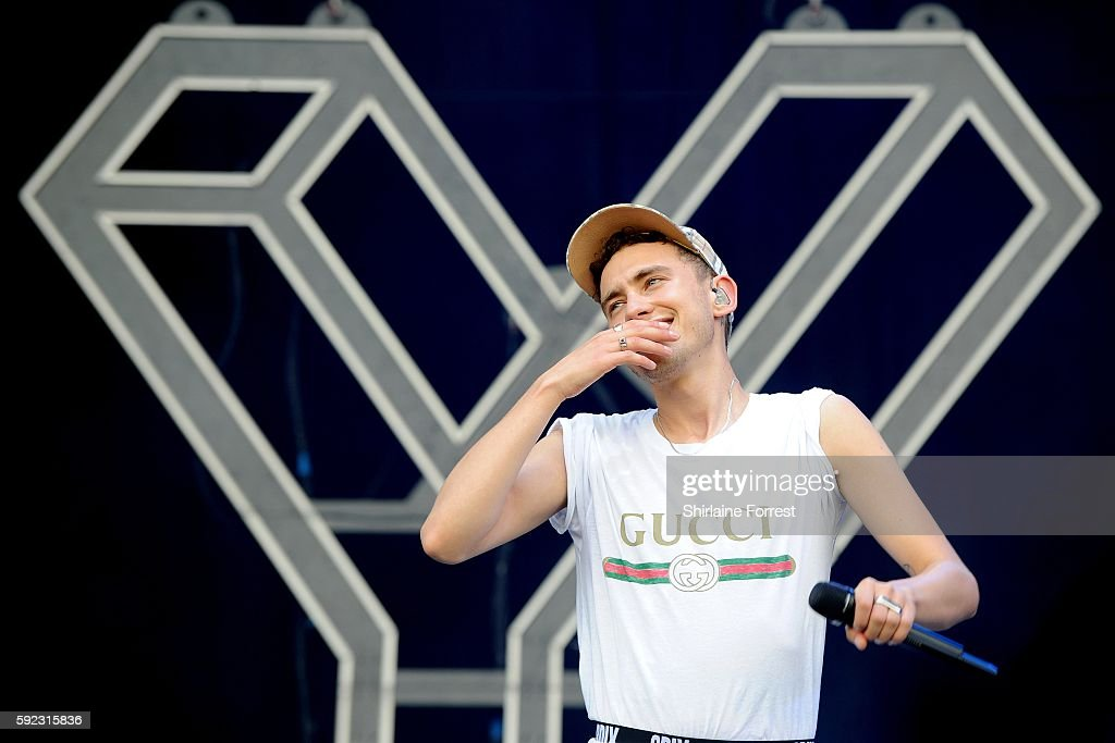 Olly Alexander of Years and Years performs at V Festival at Weston Park on August 20, 2016 in Stafford, England.
