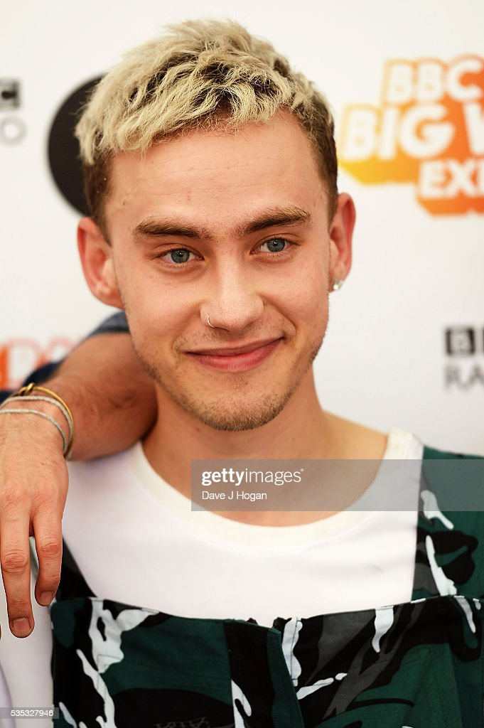 <a gi-track='captionPersonalityLinkClicked' href=/galleries/search?phrase=Olly+Alexander&family=editorial&specificpeople=5861723 ng-click='$event.stopPropagation()'>Olly Alexander</a> of Years and Years poses for a photo during day 2 of BBC Radio 1's Big Weekend at Powderham Castle on May 29, 2016 in Exeter, England.