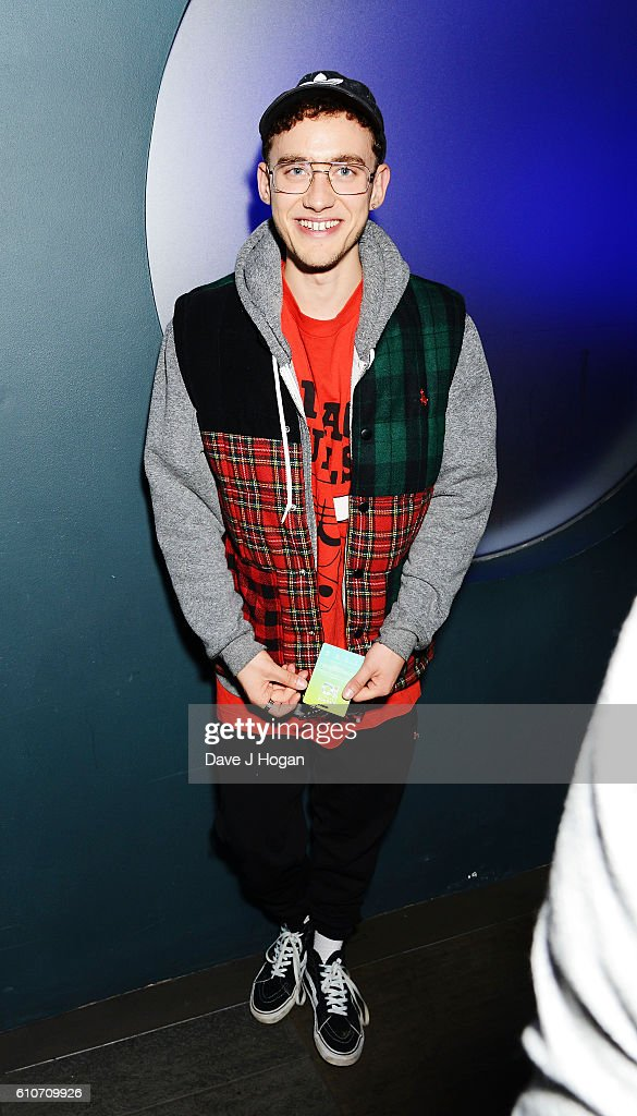 Olly Alexander of Years & Years attends Britney Spears' performance at The Roundhouse on September 27, 2016 in London, England.