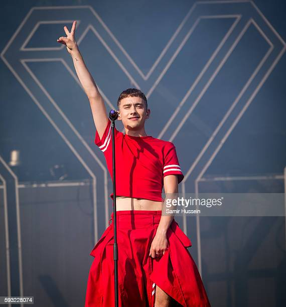 Olly Alexander of Years Years performs at V Festival at Hylands Park on August 21 2016 in Chelmsford England