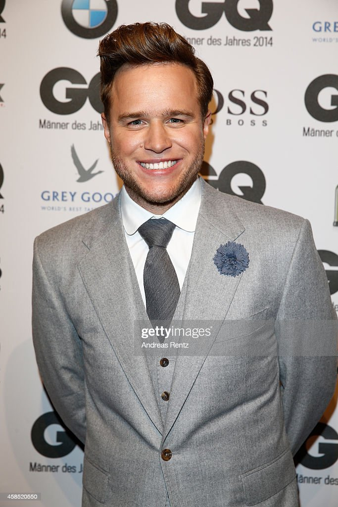 <a gi-track='captionPersonalityLinkClicked' href=/galleries/search?phrase=Olly+Murs&family=editorial&specificpeople=6350751 ng-click='$event.stopPropagation()'>Olly Murs</a> arrives at the GQ Men of the Year Award 2014 at Komische Oper on November 6, 2014 in Berlin, Germany.
