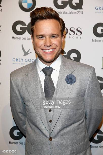 Olly Murs arrives at the GQ Men of the Year Award 2014 at Komische Oper on November 6 2014 in Berlin Germany